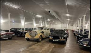 Classic car storage Hampshire