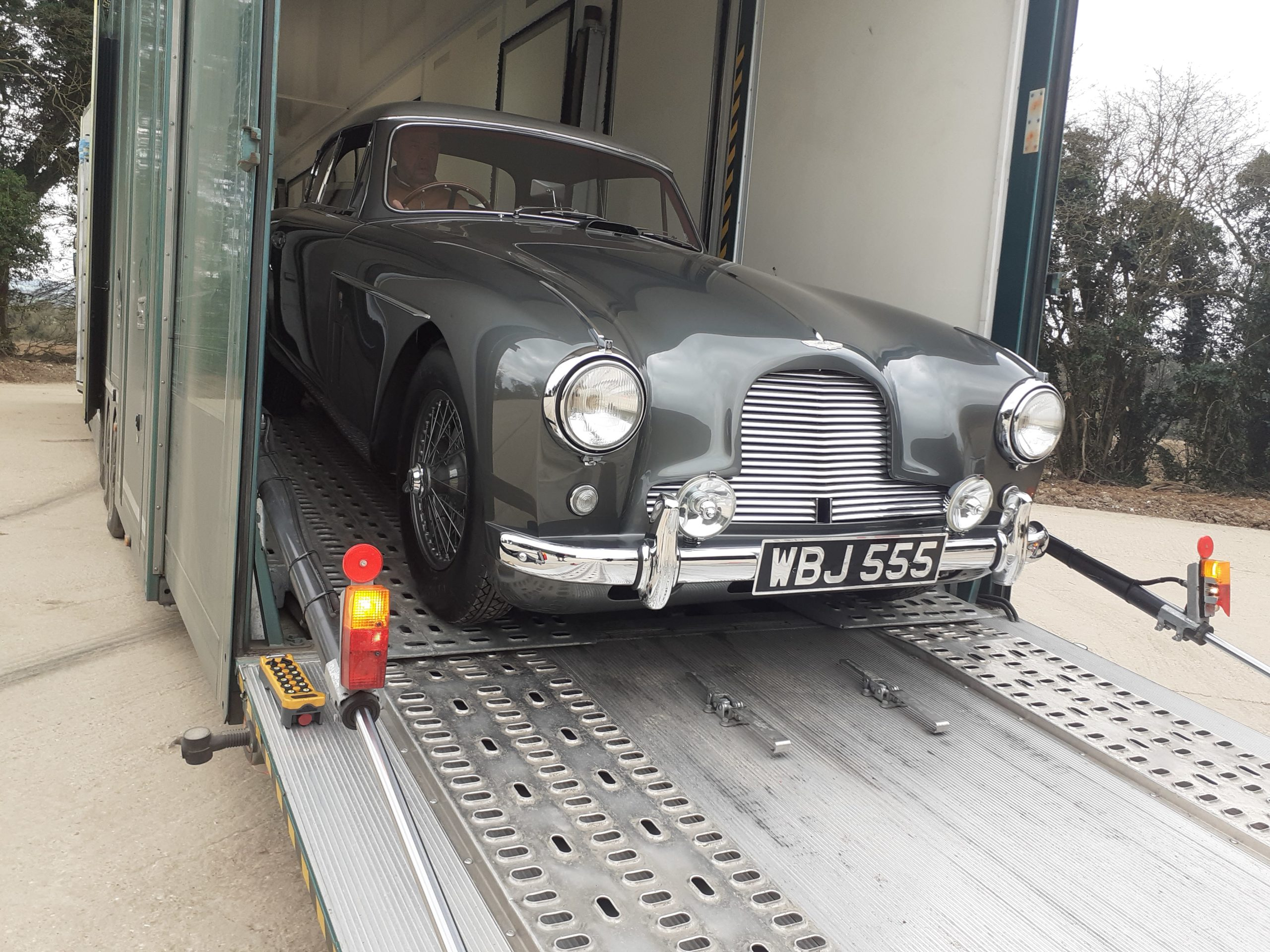 Classic car storage transport