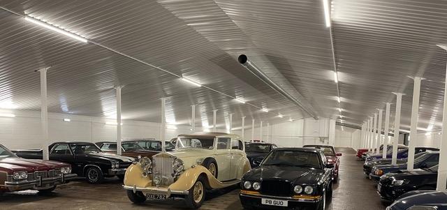 Classic car storage Newbury