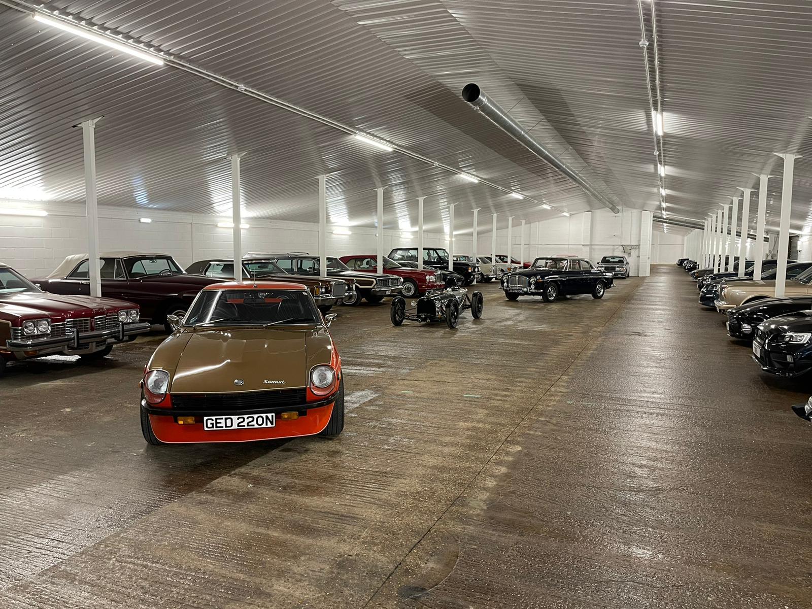CLassic Car storage Basinsgstoke