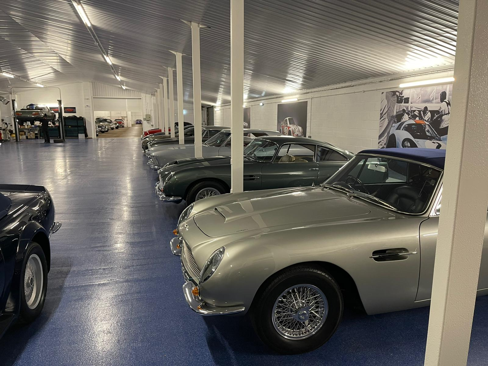 Long term car storage Hampshire